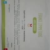 Ο έπαινος συμμετοχής μας στο πρόγραμμα ανακύκλωσης του Δήμου Παλλήνης